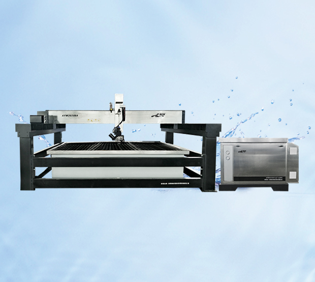 All stainless steel centring five-axis cutting platform