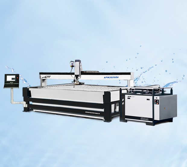 Longmen All Stainless Steel Water Cutting Machine(A15 + B-3020BA-ABW)